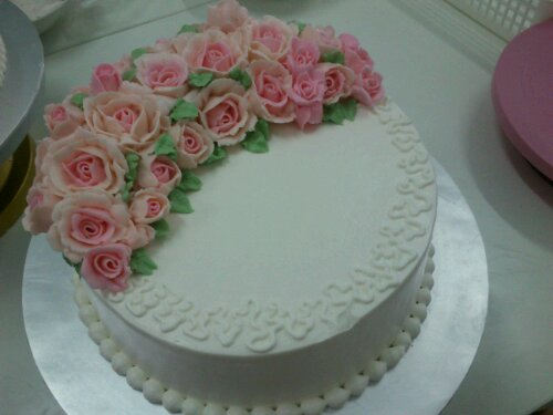 Cake Decorating Job Leeds : Romantic Cake (Hantaran/Anniversary) Kek Comel by Nis
