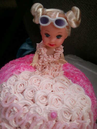 Doll Cake Kek Comel by Nis
