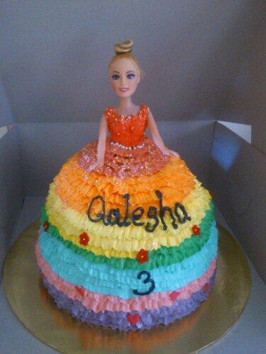 Doll Cake Kek Comel By Nis